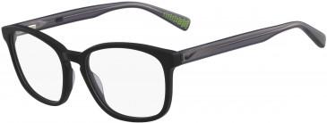 Nike 5016-50 kids glasses in Black/Volt