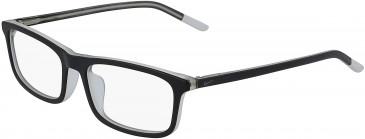 Nike 5540-47 kids glasses in Matte Black/Pure Platinum