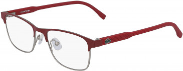 Lacoste L3107 kids glasses in Matte Red