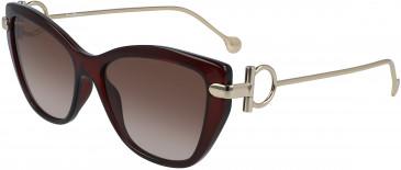 Salvatore Ferragamo SF928S sunglasses in Wine