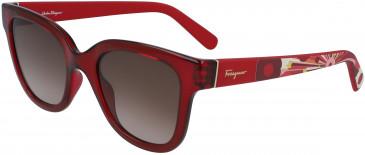 Salvatore Ferragamo SF927S sunglasses in Red
