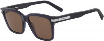 Salvatore Ferragamo SF917S sunglasses in Dark Blue