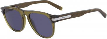 Salvatore Ferragamo SF916S sunglasses in Khaki
