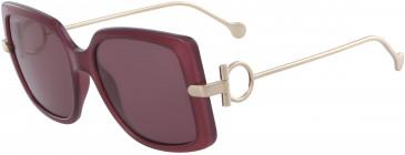 Salvatore Ferragamo SF913S sunglasses in Wine