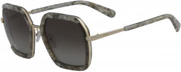 Salvatore Ferragamo SF901S sunglasses in Brown Greige Stone