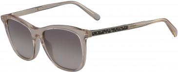 Salvatore Ferragamo SF888SR sunglasses in Crystal Peach