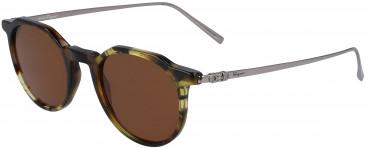 Salvatore Ferragamo SF2845S sunglasses in Tortoise