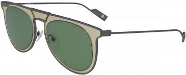 Salvatore Ferragamo SF209S sunglasses in Sand/Green