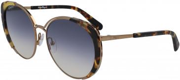 Salvatore Ferragamo SF207S sunglasses in Amber Gold/Tortoise