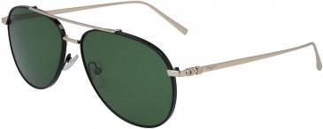 Salvatore Ferragamo SF201S sunglasses in Shiny Gold/Black