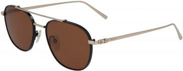 Salvatore Ferragamo SF200S sunglasses in Shiny Gold/Black