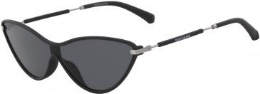 Calvin Klein Jeans CKJ19702S sunglasses in Jade/Smoke