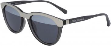Calvin Klein Jeans CKJ19519S sunglasses in Crystal Light Blue
