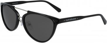 Calvin Klein Jeans CKJ19518S sunglasses in Crystal Light Pink