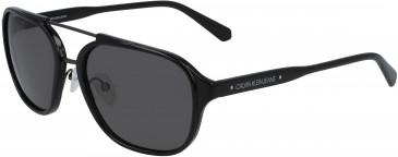 Calvin Klein Jeans CKJ19517S sunglasses in Crystal Dark Blue