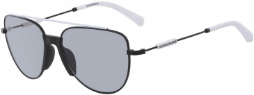 Calvin Klein Jeans CKJ18101S sunglasses in Silver/Purple