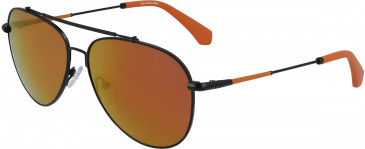 Calvin Klein Jeans CKJ164S sunglasses in Satin Copper