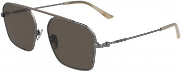 Calvin Klein CK19148S sunglasses in Satin Silver/Black
