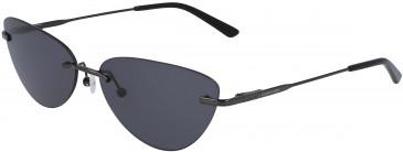 Calvin Klein CK19124S sunglasses in Crystal Mirror