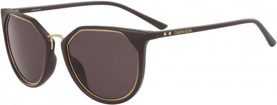 Calvin Klein CK18531S sunglasses in Dark Brown