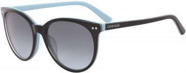 Calvin Klein CK18509S sunglasses in Tortoise/Milky Purple