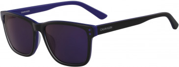 Calvin Klein CK18508S sunglasses in Navy/Orange