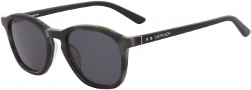 Calvin Klein CK18505S sunglasses in Navy Havana