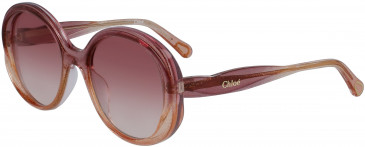 Chloé CE3615S kids sunglasses in Glitter Rose Peach
