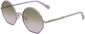 Chloé CE3105S kids sunglasses in Gold/Lilac