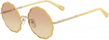 Chloé CE3103S kids sunglasses in Gold/Yellow