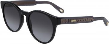 Chloé CE753S sunglasses in Black