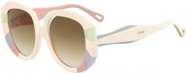 Chloé CE744S sunglasses in Pastel Rainbow