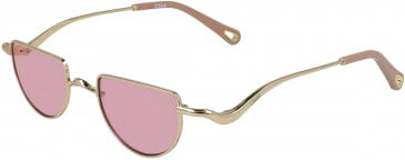 Chloé CE158S sunglasses in Gold/Pink