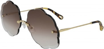 Chloé CE156S sunglasses in Gold/Gradient Pink