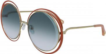 Chloé CE155S sunglasses in Gold/Brown