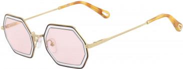 Chloé CE146S sunglasses in Havana Azur/Pink