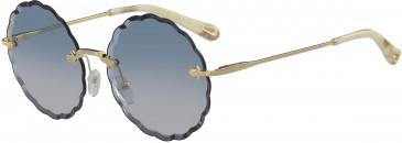 Chloé CE142S-60 sunglasses in Gold/Gradient Rose