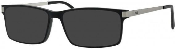 Fila VF9088 sunglasses in Shiny Dark Havana