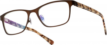 Superdry SDO-NOVAH Glasses in Painted Matte Brown/White Leopard