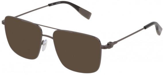 Trussardi VTR393 sunglasses in Shiny Gun