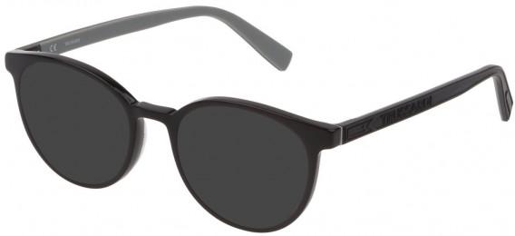 Trussardi VTR392 sunglasses in Shiny Black