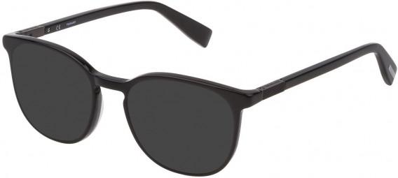 Trussardi VTR355 sunglasses in Shiny Black