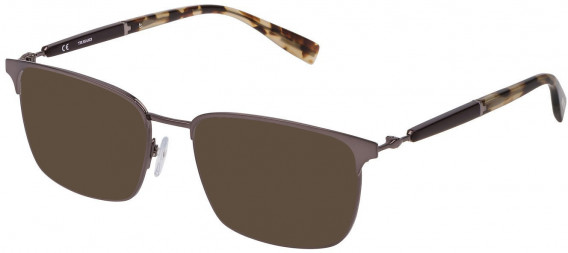 Trussardi VTR353 sunglasses in Shiny Gun