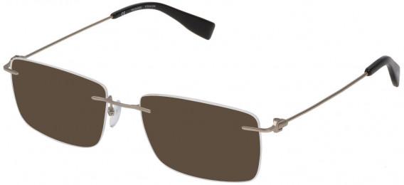 Trussardi VTR248 sunglasses in Matt Palladium