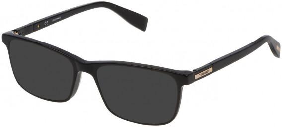Trussardi VTR242 sunglasses in Shiny Black