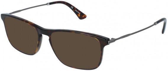 Police VPL956 sunglasses in Shiny Dark Havana