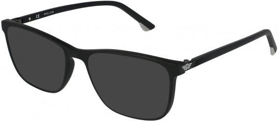 Police VPL952 sunglasses in Matt Black