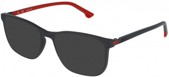 Police VPL952 sunglasses in Full Matt Grey