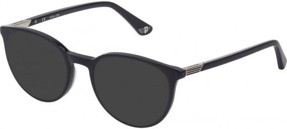 Police VPL883 sunglasses in Shiny Dark Blue
