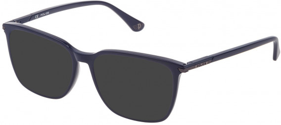 Police VPL792N sunglasses in Full Blue